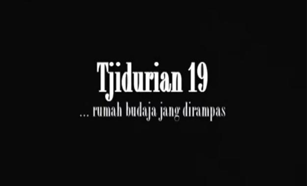 Tjidurian 19, (2009), karya Abduh Aziz dan Lasja Soesatyo