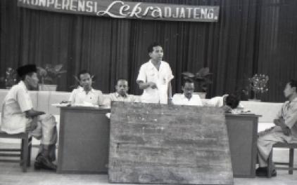 Konferensi Lekra Jawa Tengah, Semarang Januari 1958